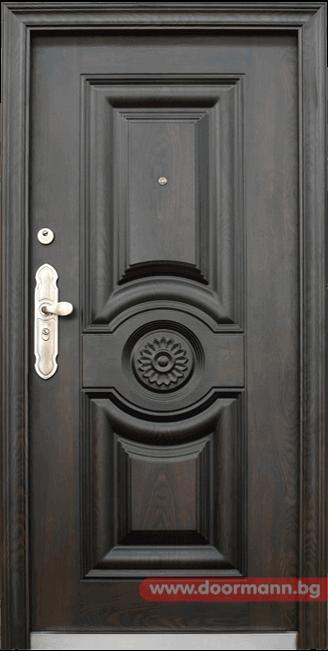 Блиндирана входна врата модел 539