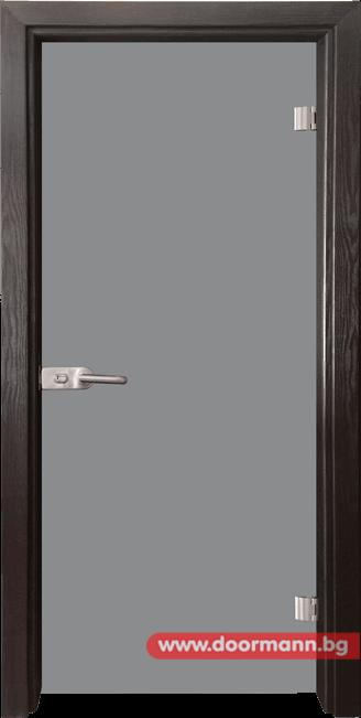 Стъклена врата модел Basic G 10 – Венге