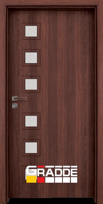 Интериорна врата Gradde Reichsburg - Шведски дъб