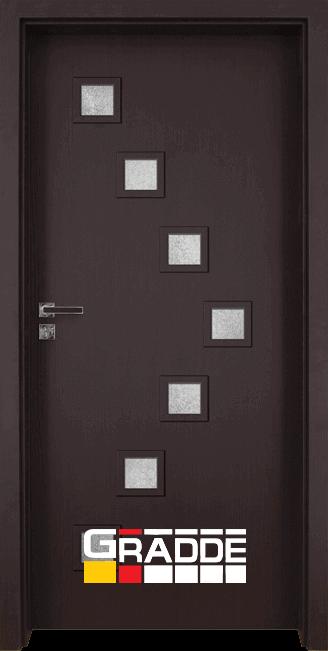 Интериорна врата Gradde Zwinger - Орех Рибейра