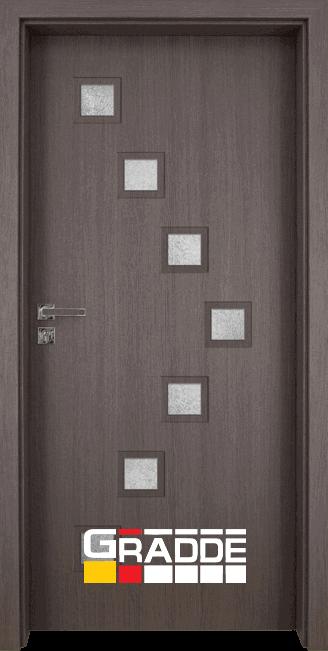 Интериорна врата Gradde Zwinger - Череша Сан Диего