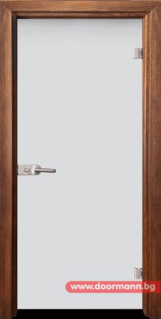 Стъклена врата модел Matt G 11 - Златен дъб