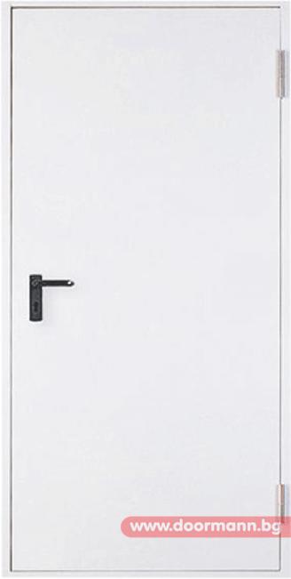 Метална пожароустойчива врата